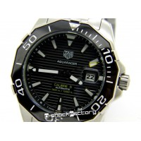Aquaracer Calibre 5 Steel Silver Watch