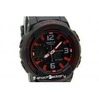 Baby-G BGA-230 Matte Black & Red Watch
