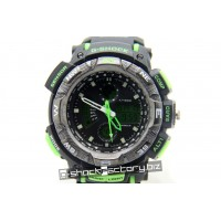 G-Shock Aviator GA-1000 Black & Green Watch