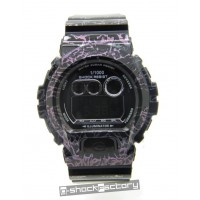 G-Shock DW-6900SC Monogram Edition Couple Watch Set Black