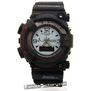 G-Shock DW-8200 Frogman Airdiver Black & White Watch