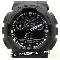 G-Shock GA-100 Black on Black Watch