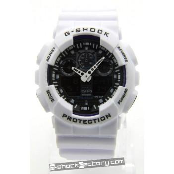 G-Shock GA-100B-7A Limited Edition White & Black Watch
