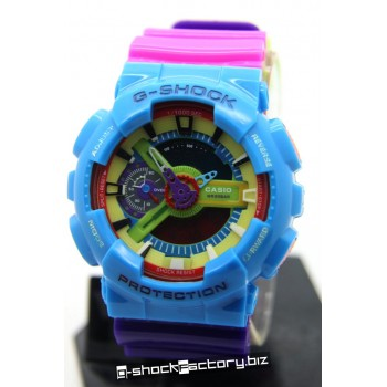G-Shock GA-110 G-Man Hyper Colors Limited Edition Blue/Pink/Purple Watch