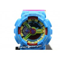 G-Shock GA-110 G-Man Hyper Colors Limited Edition Blue/Pink/Purple Watch