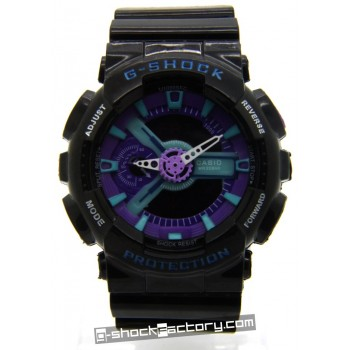 G-Shock GA-110-HC-1A Hyper Color Limited Edition Black & Purple