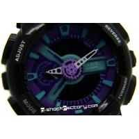 G-Shock GA-110-HC-1A Hyper Color Limited Edition Black & Purple