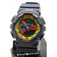 G-Shock GA-110 Hyper Colors Dark Blue Watch