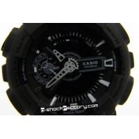 G-Shock GA-110 Military Matte Black Watch
