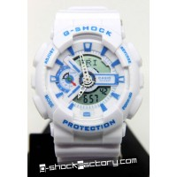 G-Shock GA-110 White & Blue Watch