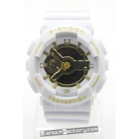 G-Shock GA-110 White & Gold Watch