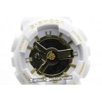 G-Shock GA-110 White & Gold Watch
