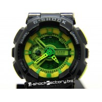 G-Shock GA-110B-1A3JF Hyper Color Black & Green Watch