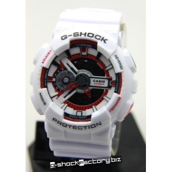 G-Shock GA-110EH-8AJR Eric Haze 30th Anniversary White & Red Limited Edition Watch