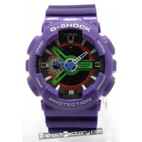 G-Shock GA-110EV-6AJR Evangelion Limited Edition Purple Watch