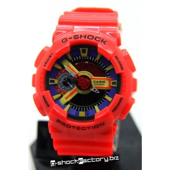 G-Shock GA-110FC-1 Hyper Color Red Watch