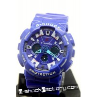 G-Shock GA-120-1A Blue & White Watch