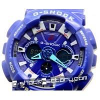 G-Shock GA-120-1A Blue & White Watch