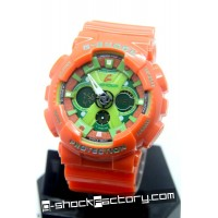 G-Shock GA-120-1A Orange & Green Watch