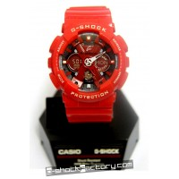G-Shock GA-120-1A Red & Black Watch