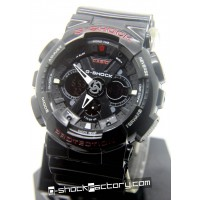 G-Shock GA-120 Black & Red Watch