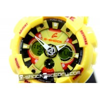 G-Shock GA-120 Yellow Watch
