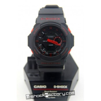 G-Shock GA-150 Black & Red Watch