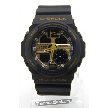 G-Shock GA-310 Matte Black & Gold Watch