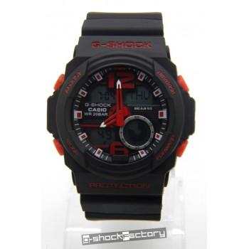 G-Shock GA-310 Matte Black & Red Watch
