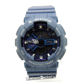 G-Shock GA110DC-2A Blue Denim Watch