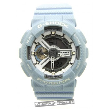 G-Shock GA110DC-2A7 Light Blue Denim Watch