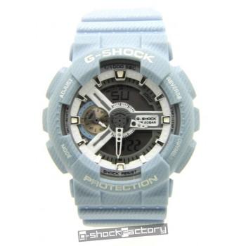 G-Shock GA110DC-2A7 Light Blue Denim Watch