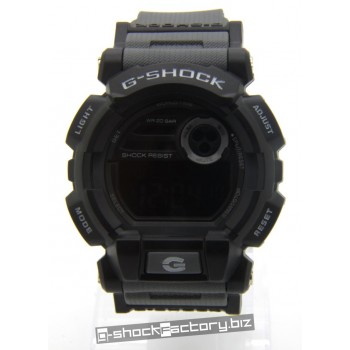 G-Shock GD-400 Matte Black & Grey Watch
