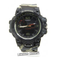 G-Shock GPW-1000 Mudmaster Black & Beige Camo Watch