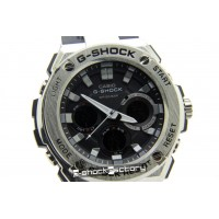 G-Shock GST-110 Steel Silver & Black Watch