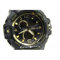 G-Shock GW-A1045 Mudmaster Black & Gold Watch