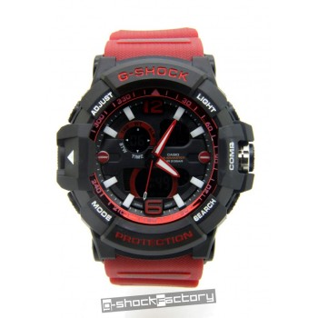 G-Shock GW-A1045 Mudmaster Black & Red Watch