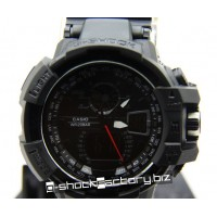 G-Shock GW-A1100 Sky Cockpit Black & Gunmetal Watch