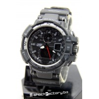 G-Shock GW-A1100 Sky Cockpit Black & Silver Watch