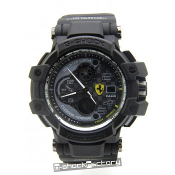 G-Shock GW-A1100ADWR Aviator Ferrari Edition Black & Grey Watch