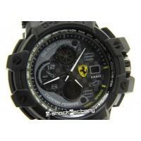 G-Shock GW-A1100ADWR Aviator Ferrari Edition Black & Grey Watch