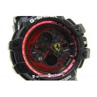 G-Shock GW-A1100ADWR Aviator Ferrari Edition Black & Red Watch