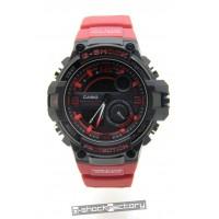 G-Shock GWP-1000A Black & Red Watch