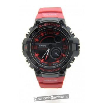 G-Shock GWP-1000A Black & Red Watch