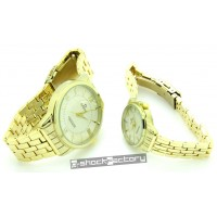 Omega Master Co-Axial Gold Couple Set Watch