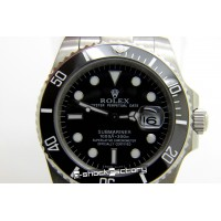 Submariner Oyster Perpetual Date Steel Silver Watch