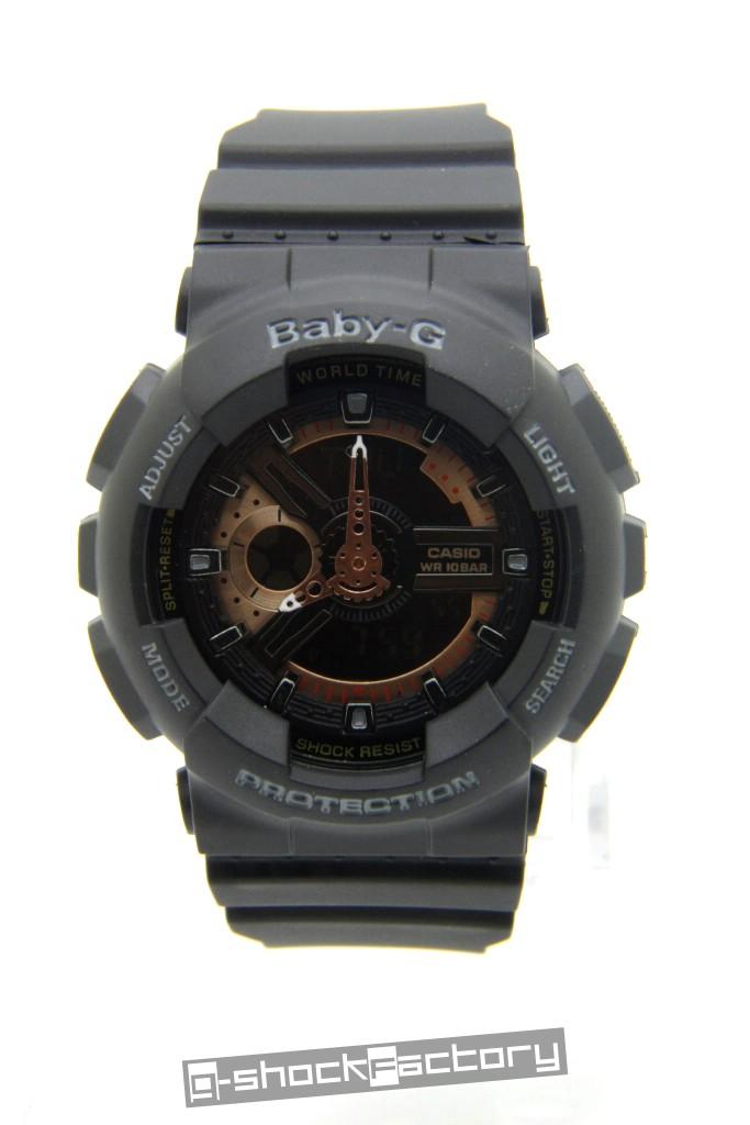 g shock baby g ga 110 ba 110 couple watch set black. Black Bedroom Furniture Sets. Home Design Ideas
