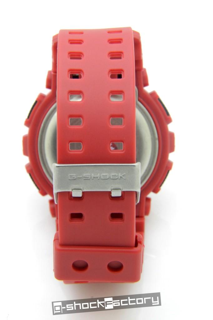 G Shock Amp Baby G Ga 110fc Amp Ba 110fc Hyper Color Matte Red