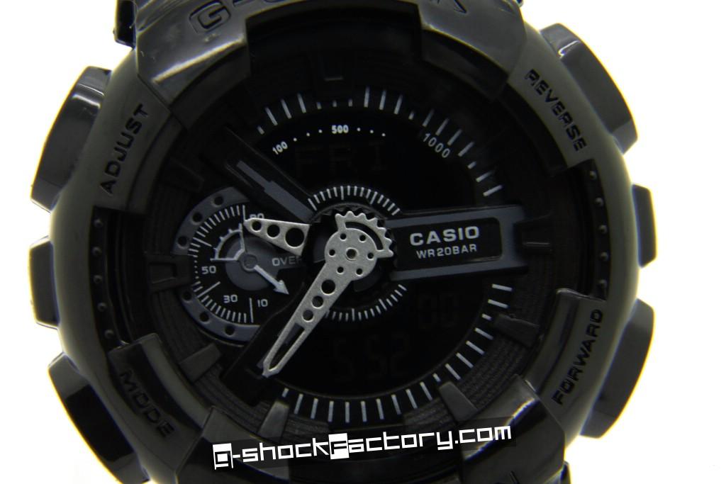 G Shock Ga 110 Military Black Watch By G Shockfactory